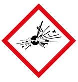 GHS01 - Explosiv