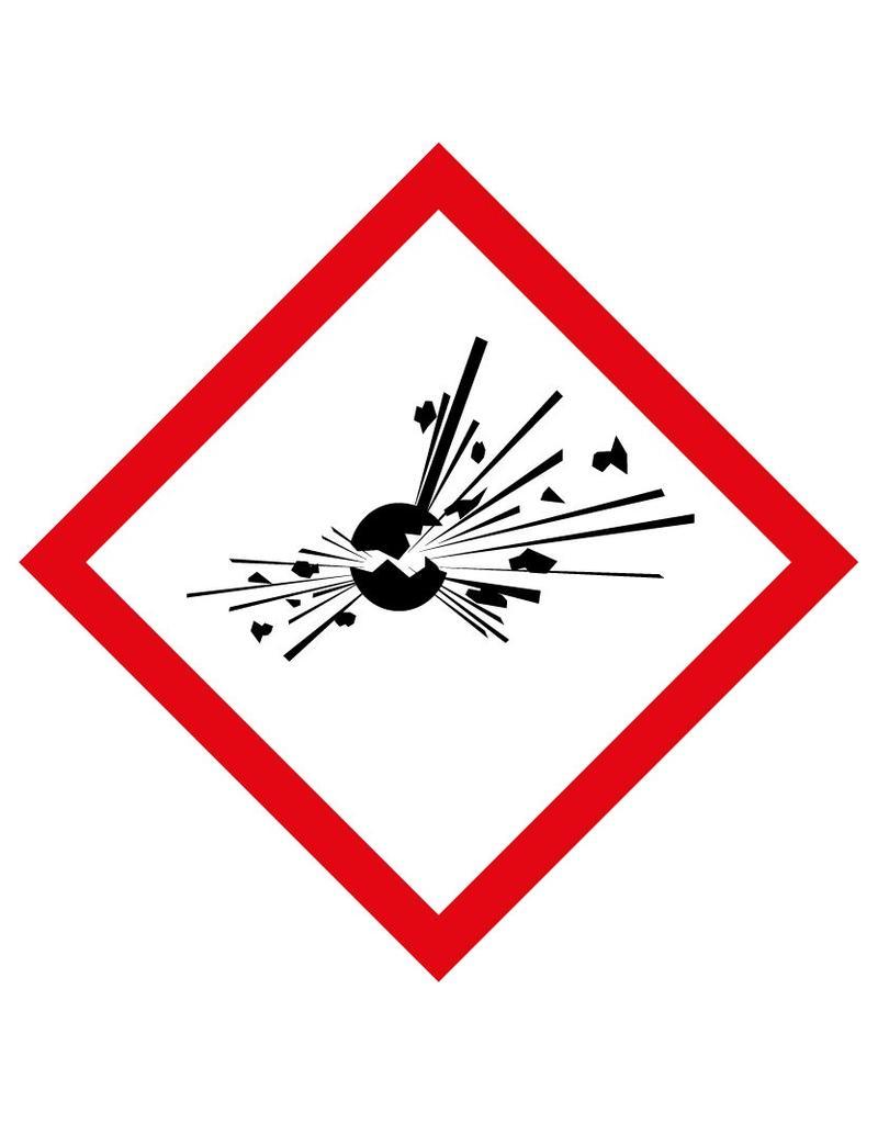 GHS01 - Explosivo