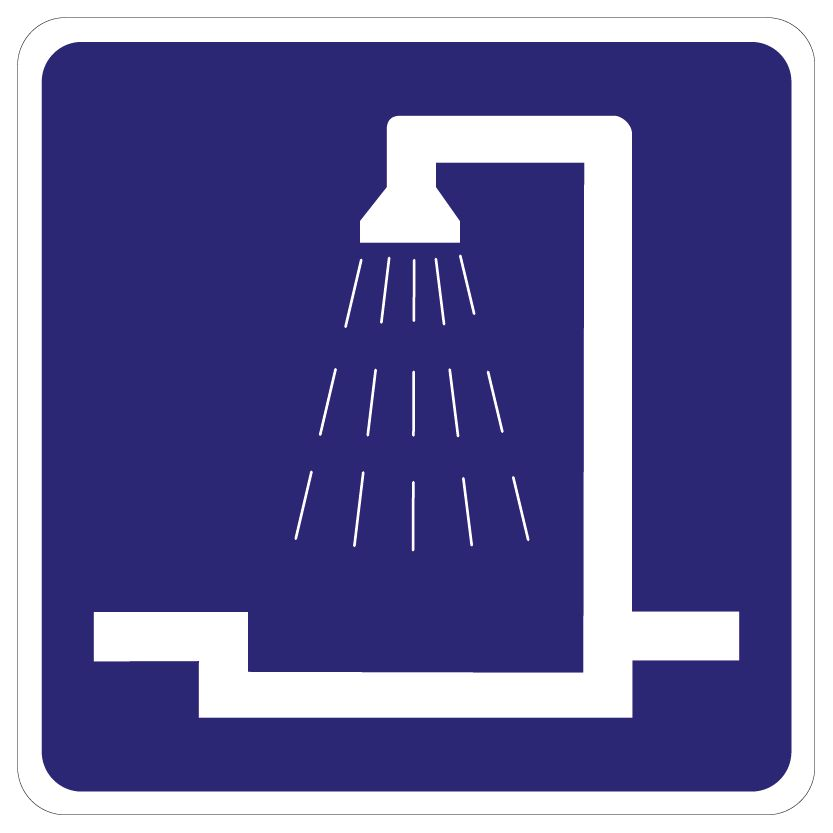 Shower Space 2 sticker