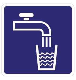 Leitungswasser Aufkleber