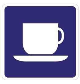 Café autocollant