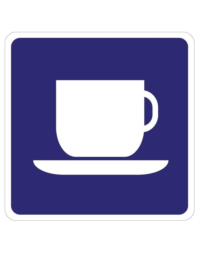 Kaffee Aufkleber