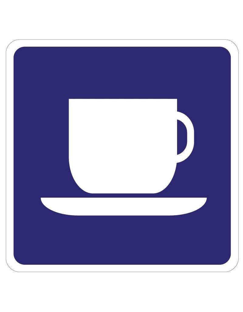Pegatina de café