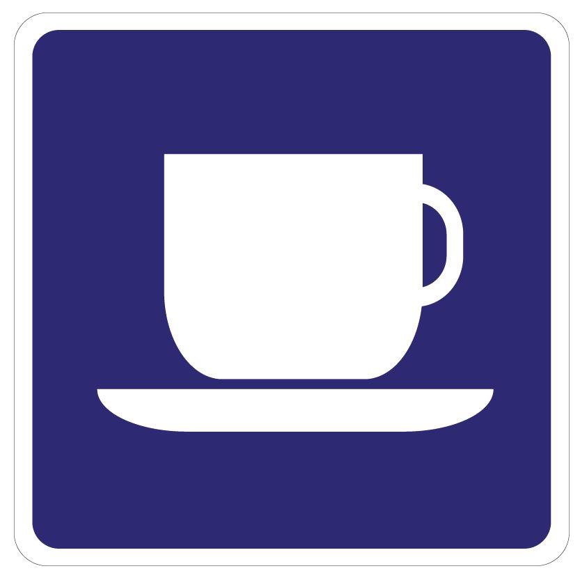 Koffie Sticker