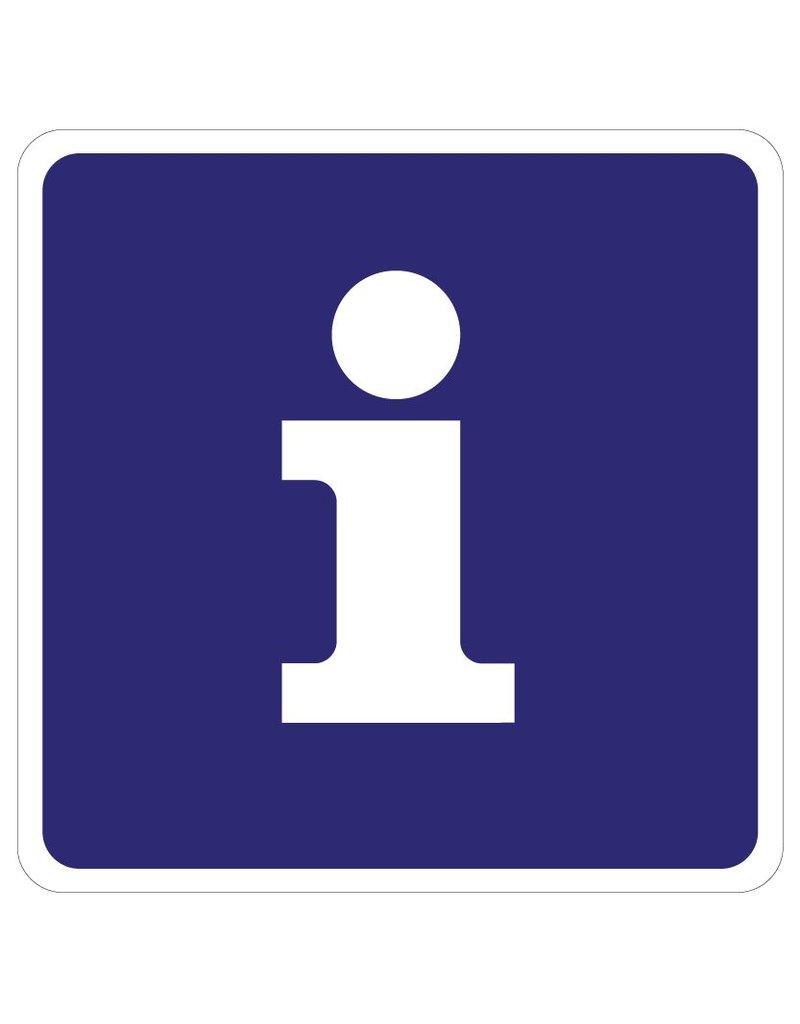 Informatie Sticker