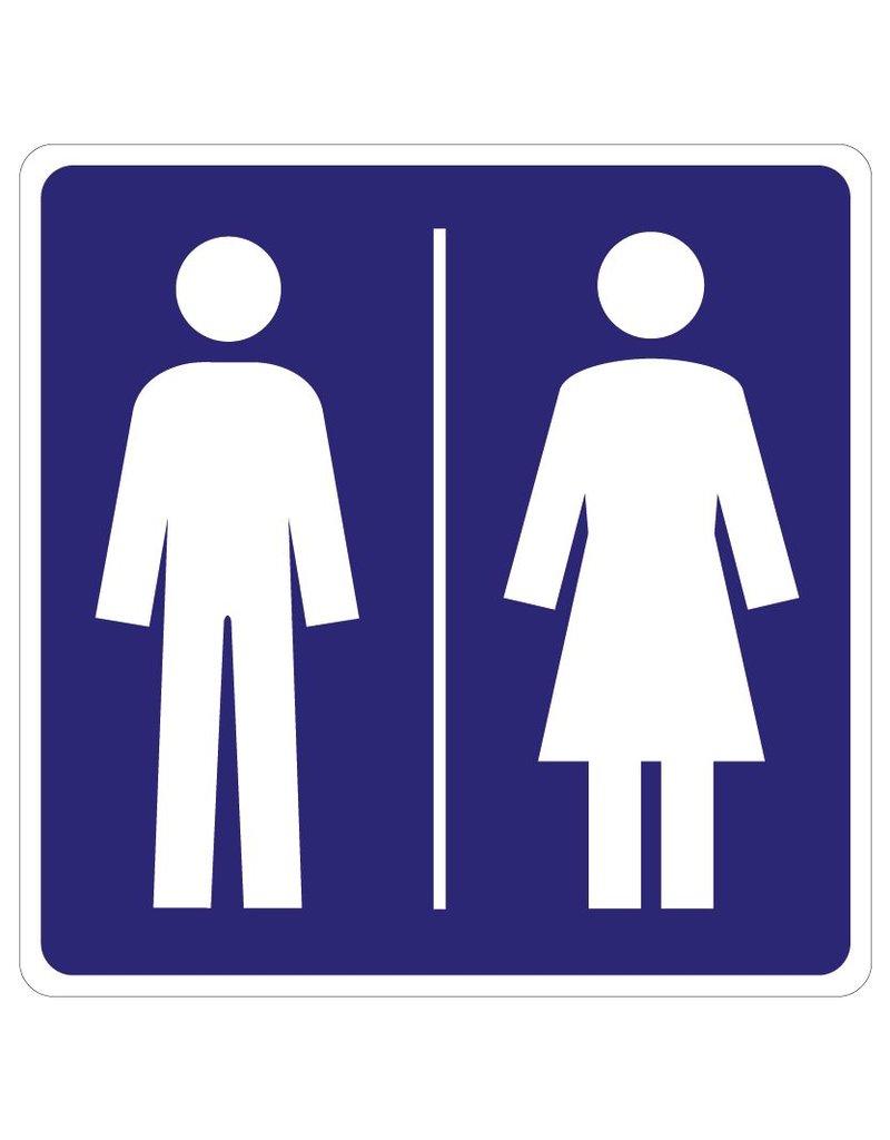 Pegatina WC
