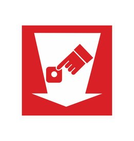 Feuerdetektor Sticker