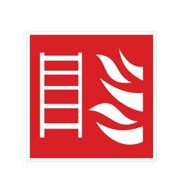 Brandladder sticker