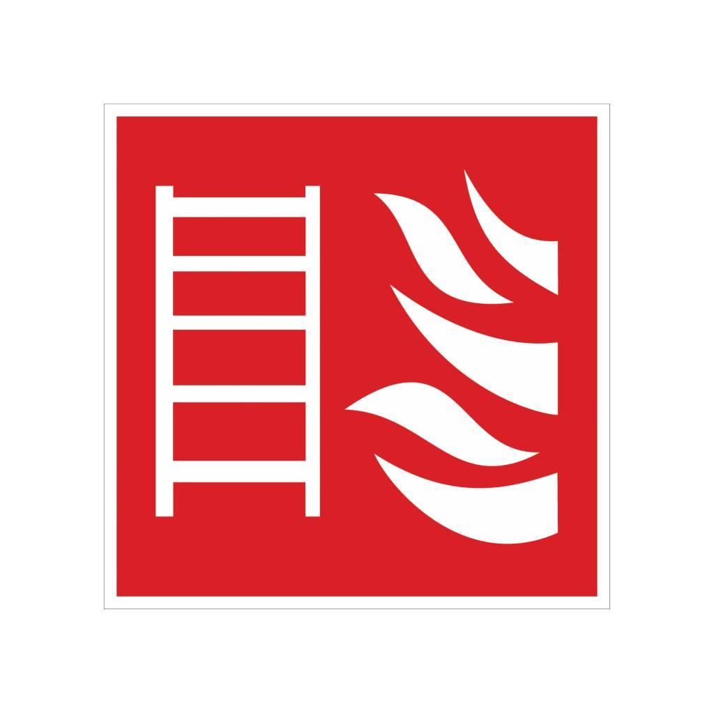 Pegatina fuego Escalera
