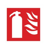 Extinguisher sticker