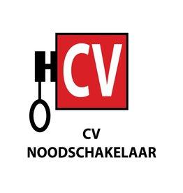 CV noodschakelaar Sticker