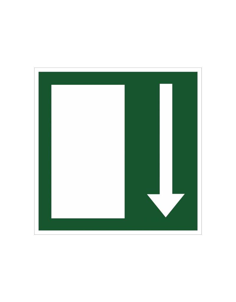 Nooduitgang6 sticker