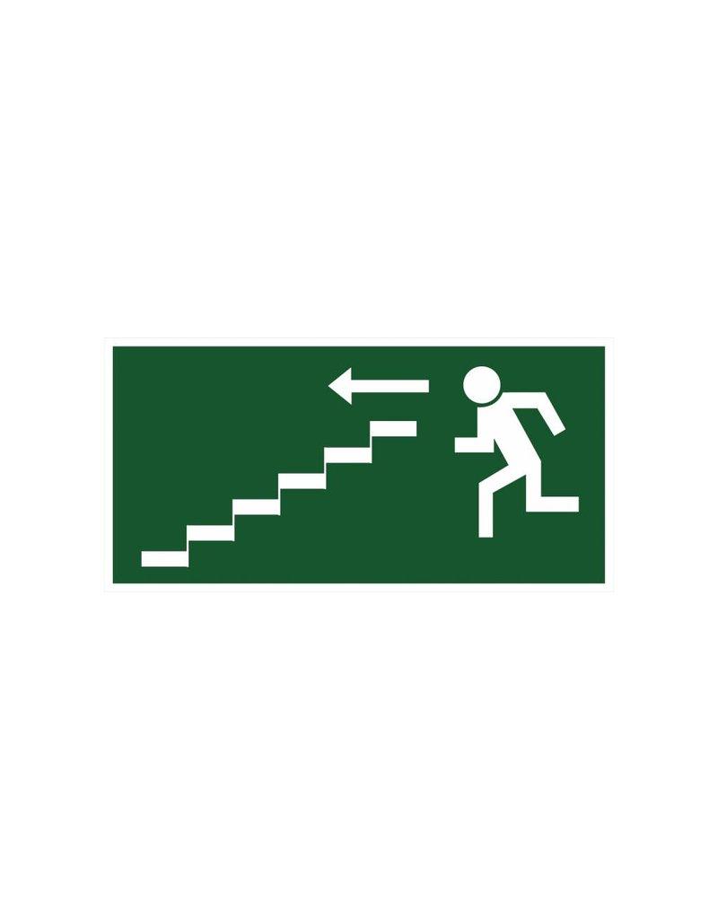 Fluchtweg durch Treppe2 Aufkleber