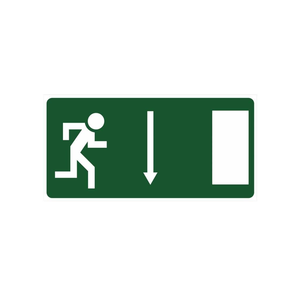 Emergency Exit 2 sticker