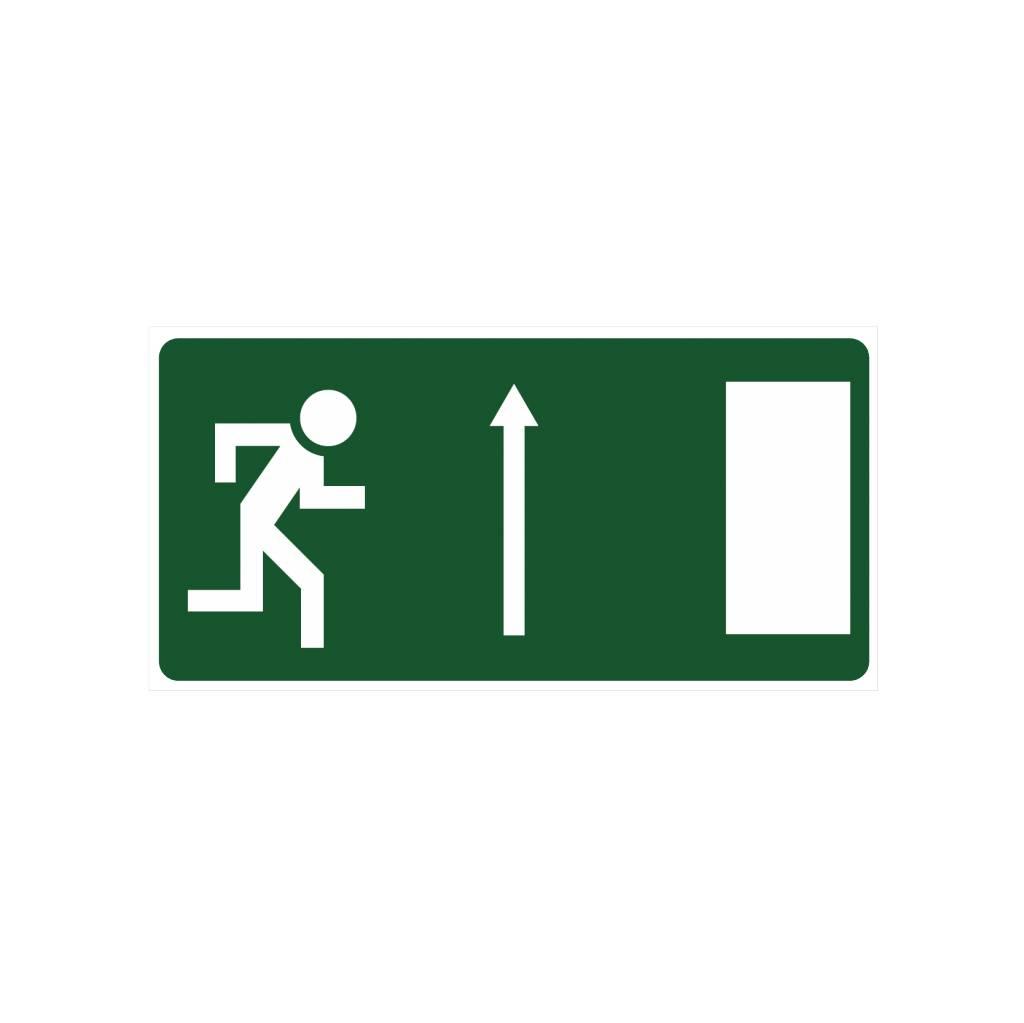 Emergency Exit 4 sticker