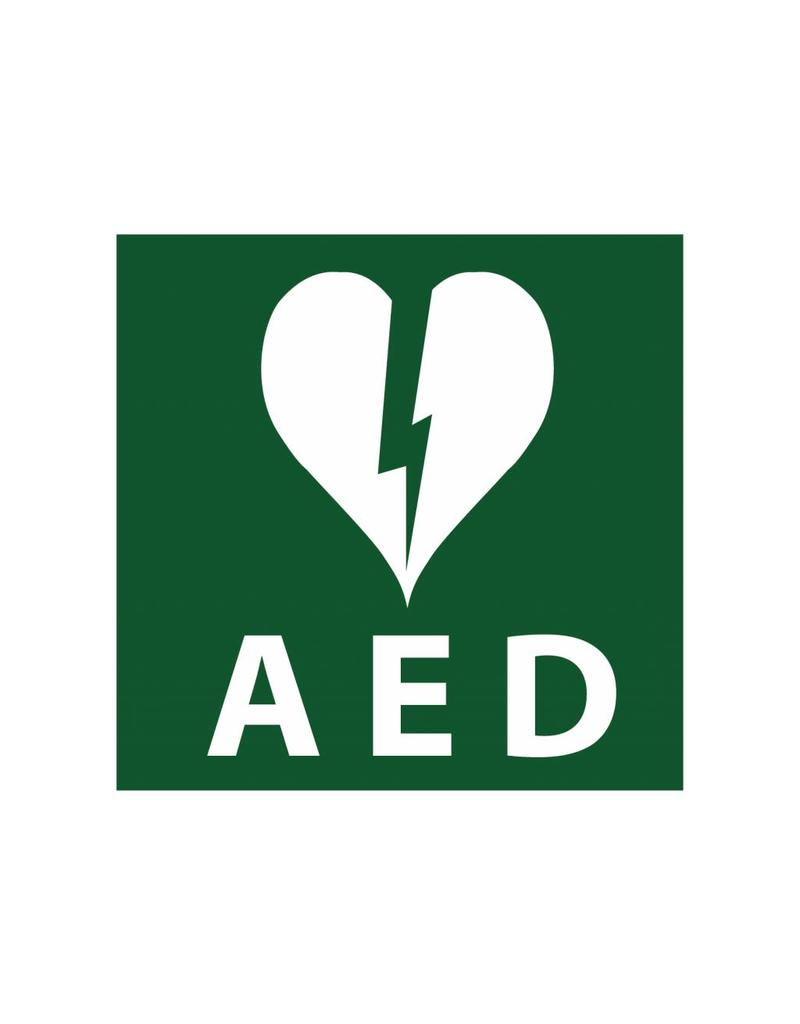 Autocollant AED 1