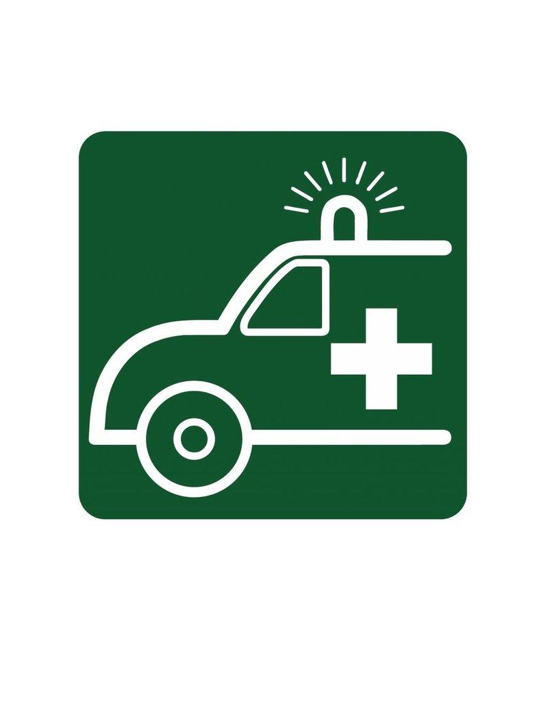 Ambulance autocollant