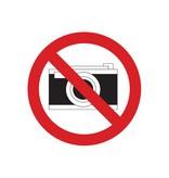 Photographier interdite autocollant