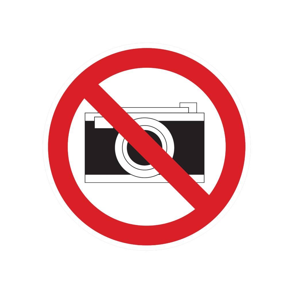 Las fotografías prohibidas pegatina
