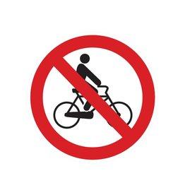 Vélos interdits