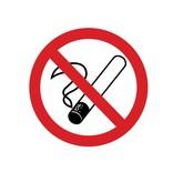Fumar prohibido pegatina