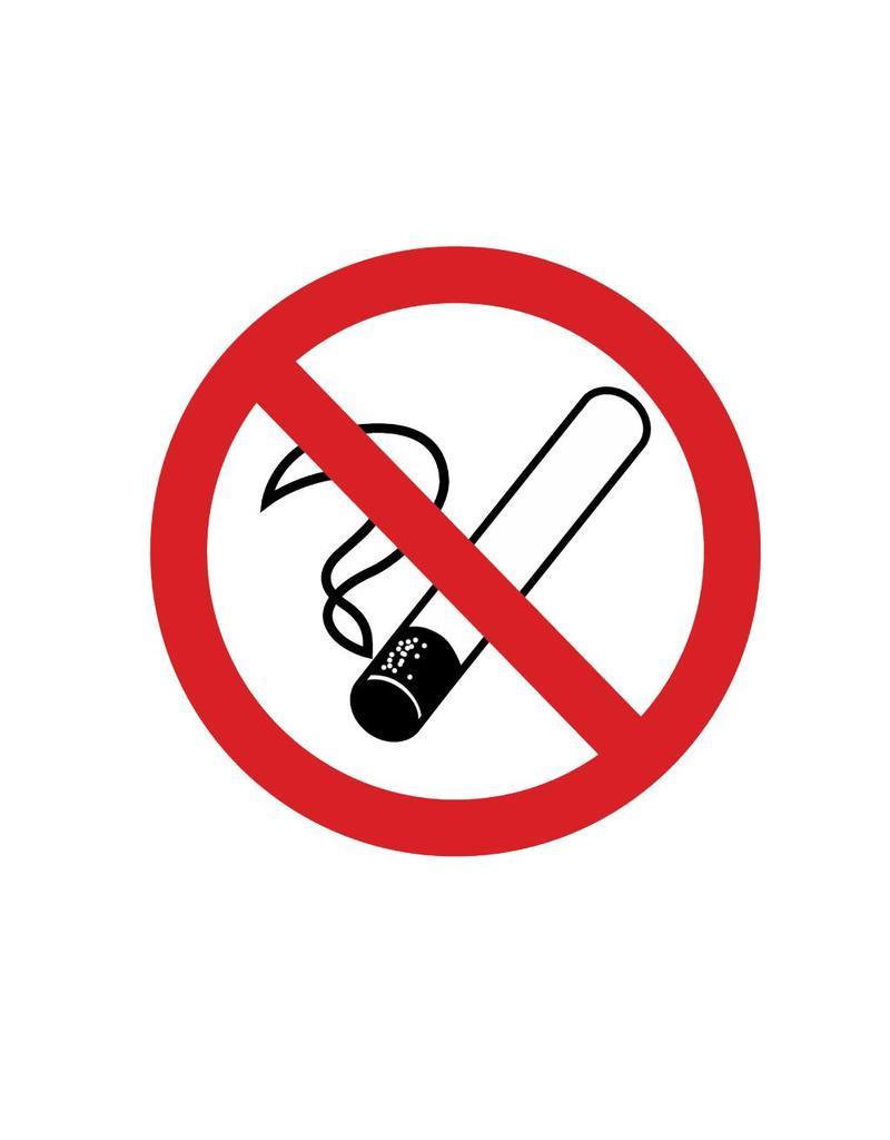 Smoking forbidden Sticker