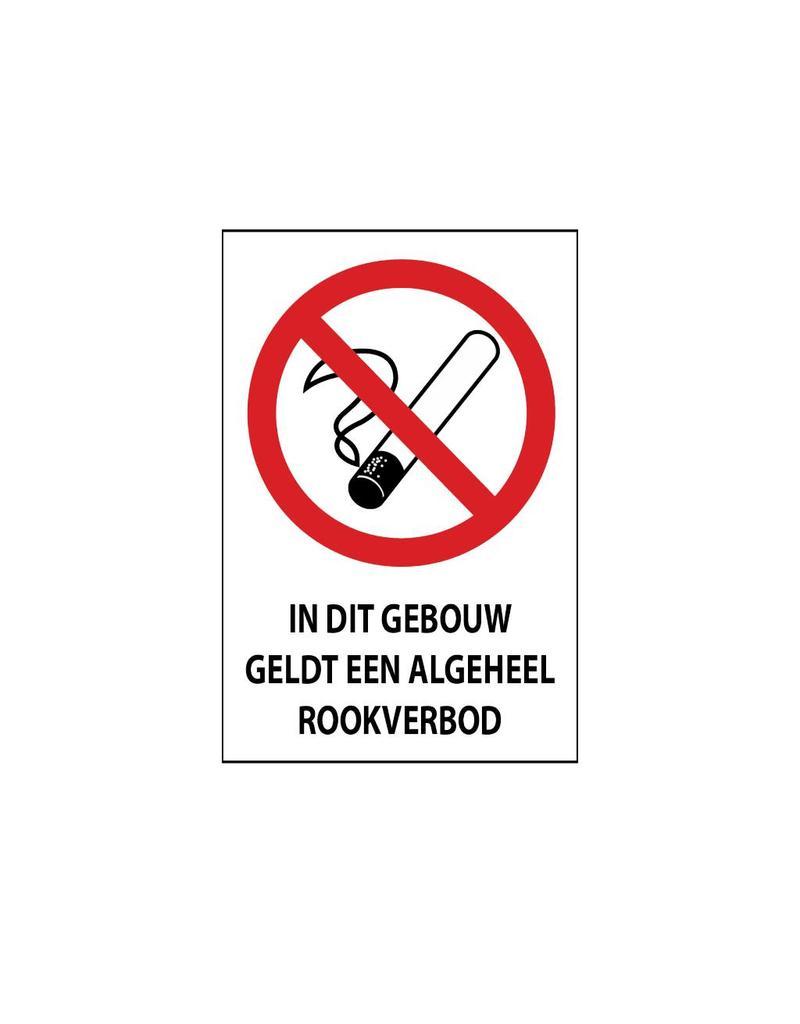 Interdit de fumer autocollant