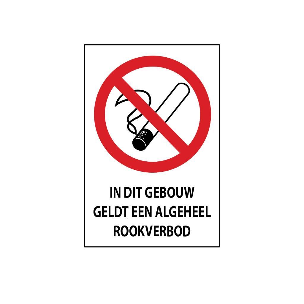 Allgemeines Rauchverbot Sticker