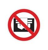Do not cover sticker