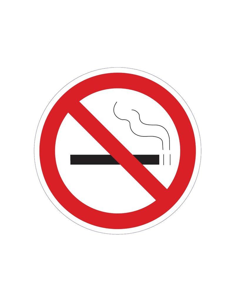 Rauchen ist verboten 2 Sticker