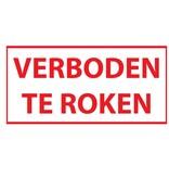 Forbidden to smoke sticker