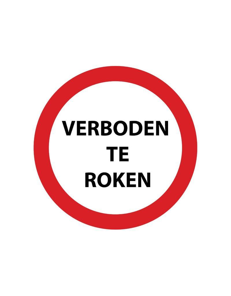 Verboden te roken 3 Sticker