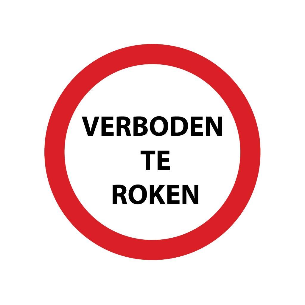 Forbidden to smoke 3 sticker