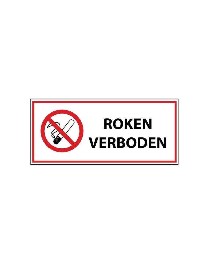 Rauchen verboten 1 Auskleber