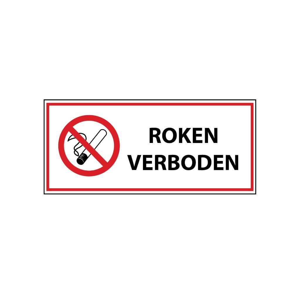 Roken verboden1 Sticker