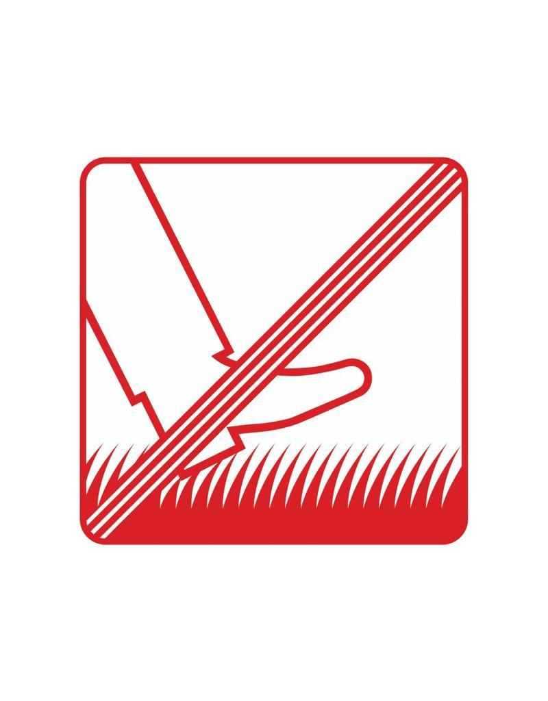 Forbidden to walk on grass Sticker