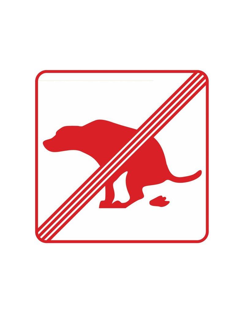 Kein Hundeklo 2 Sticker