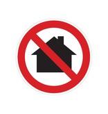 Utilizar en zona residencial prohibido pegatina