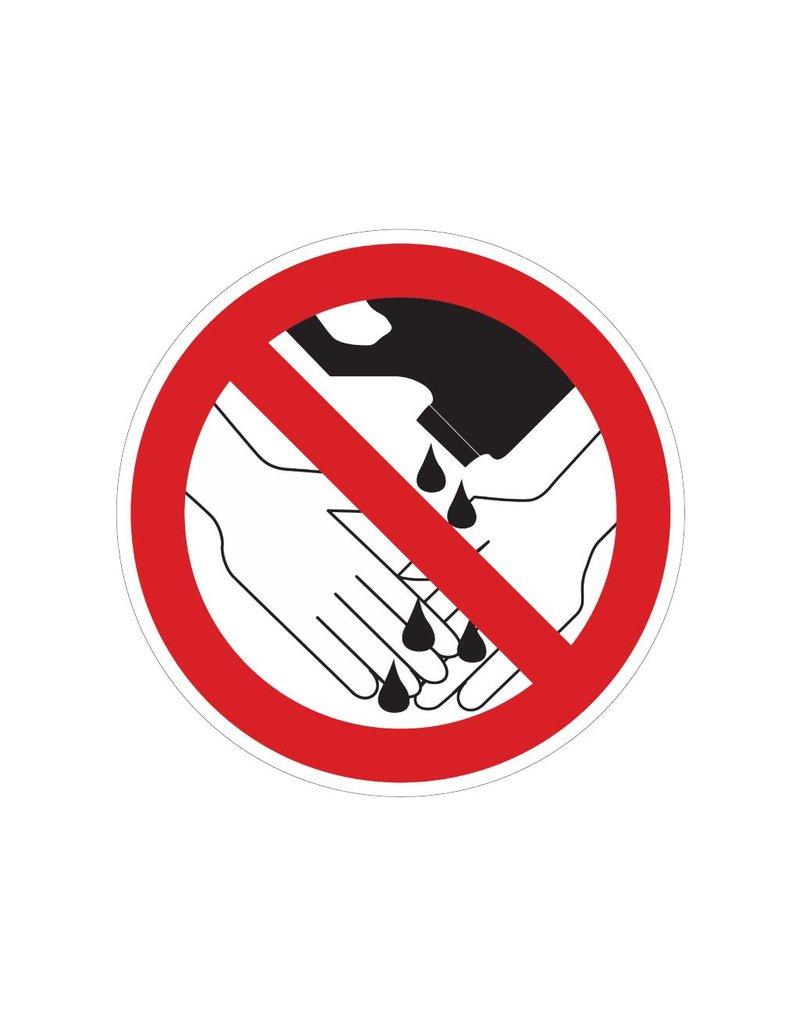 Productos químicos prohibidos para lavarse las manos