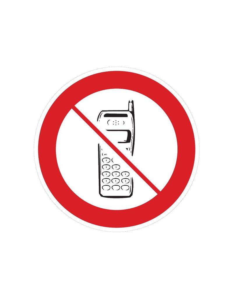 Téléphones portables interdits