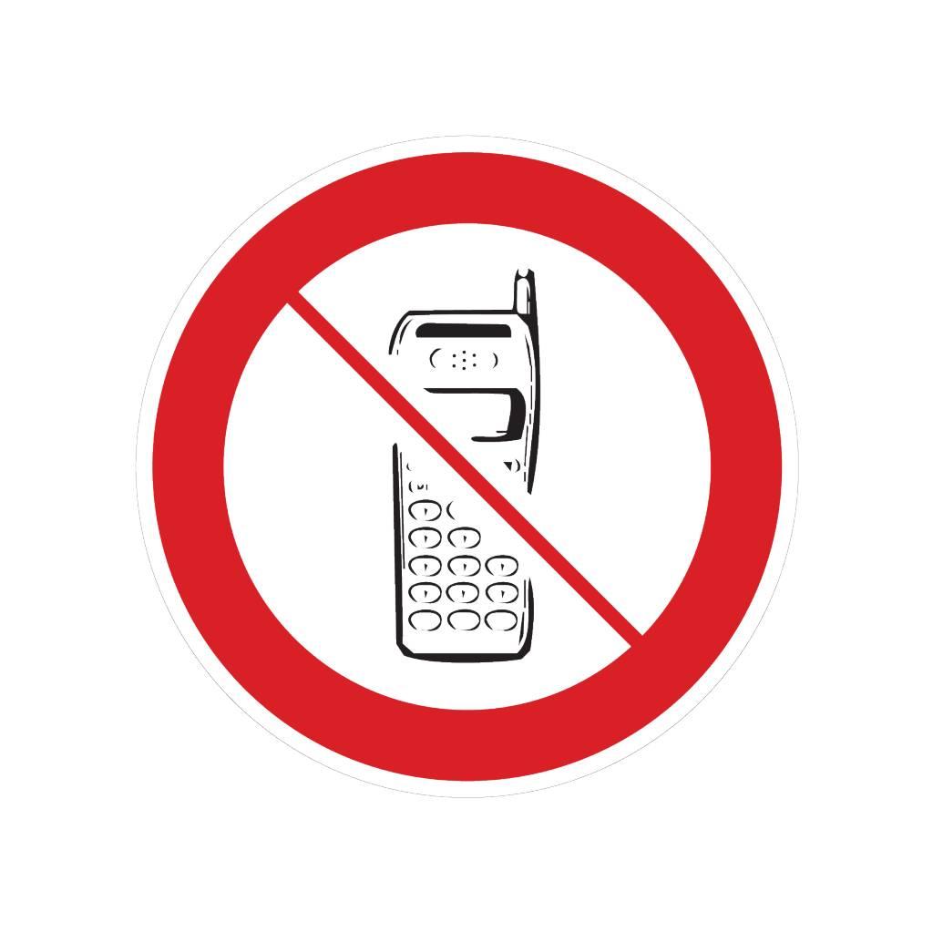 Mobiltelefone verboten Sticker