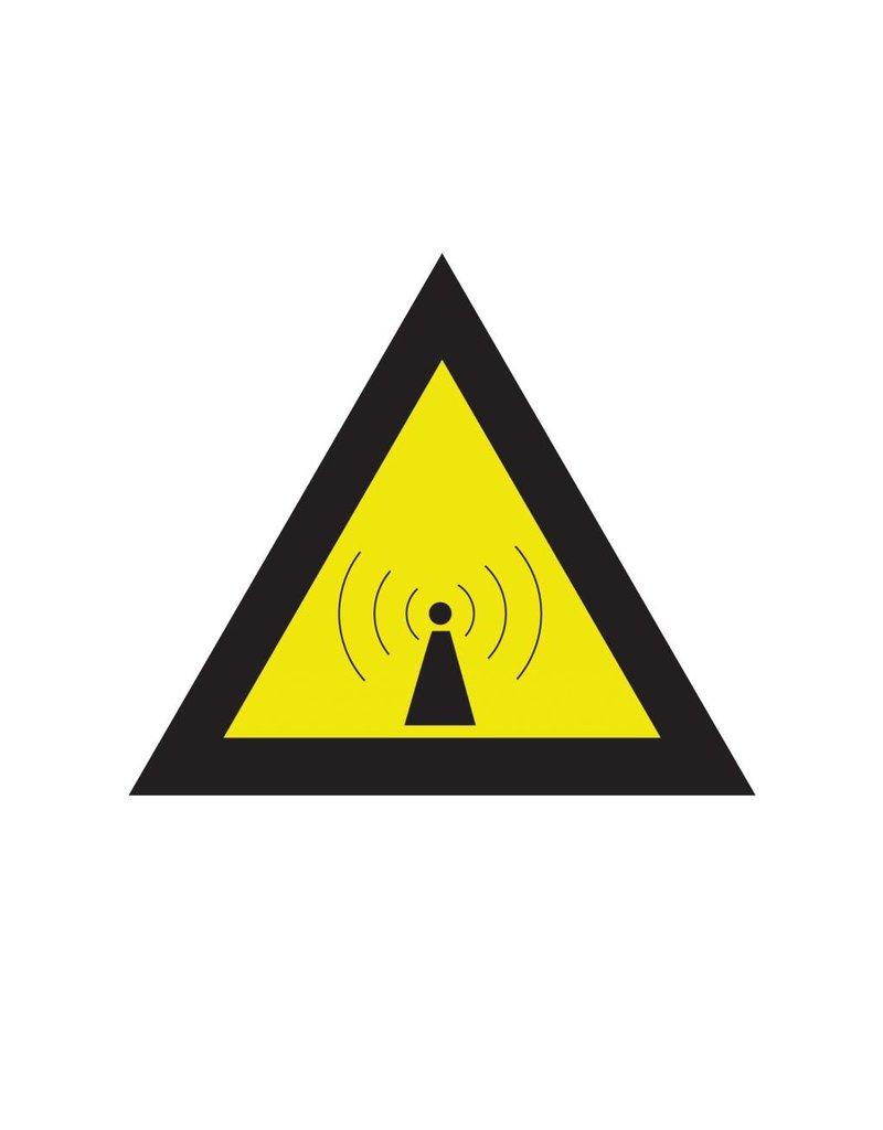 Non-ionizing radiation sticker