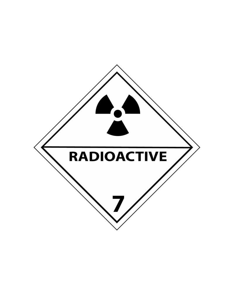 Radio active 7 Sticker