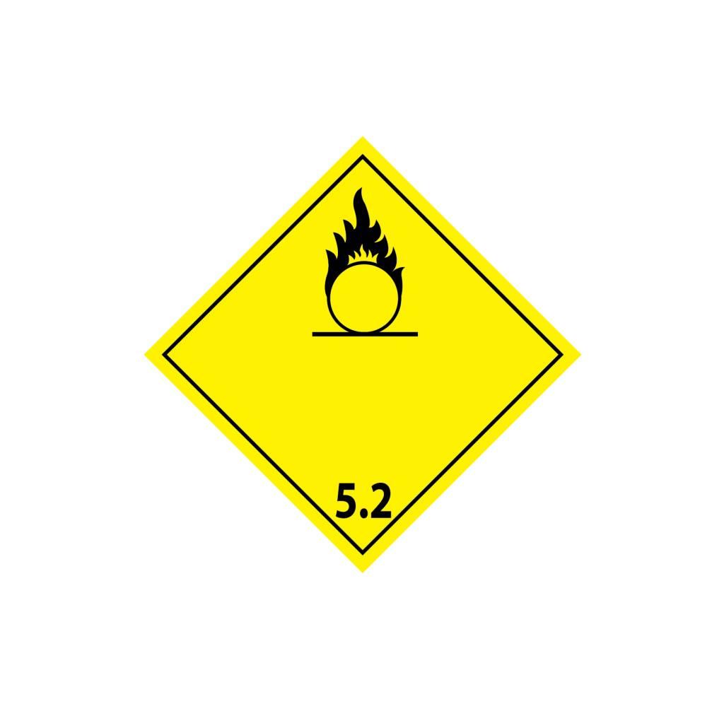 Organische Peroxide Sticker