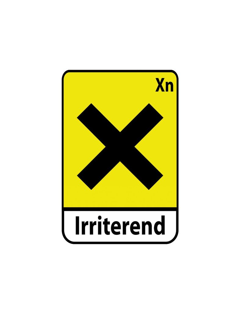 Irriterend Xn Sticker