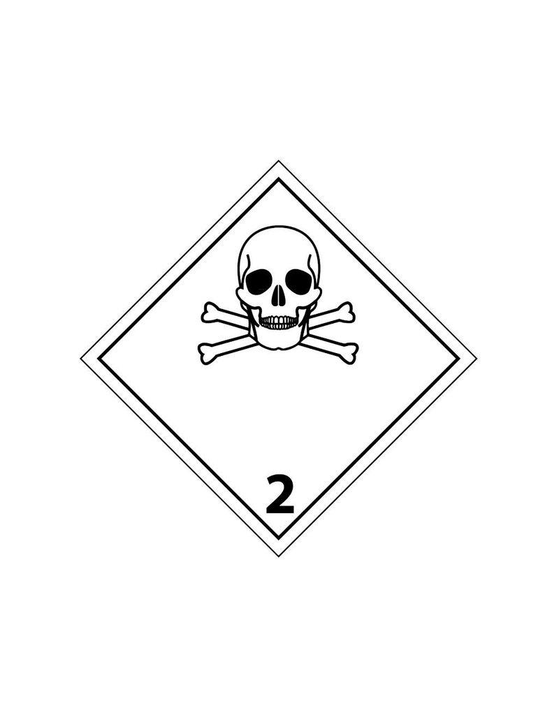 Giftige gassen 2 Sticker