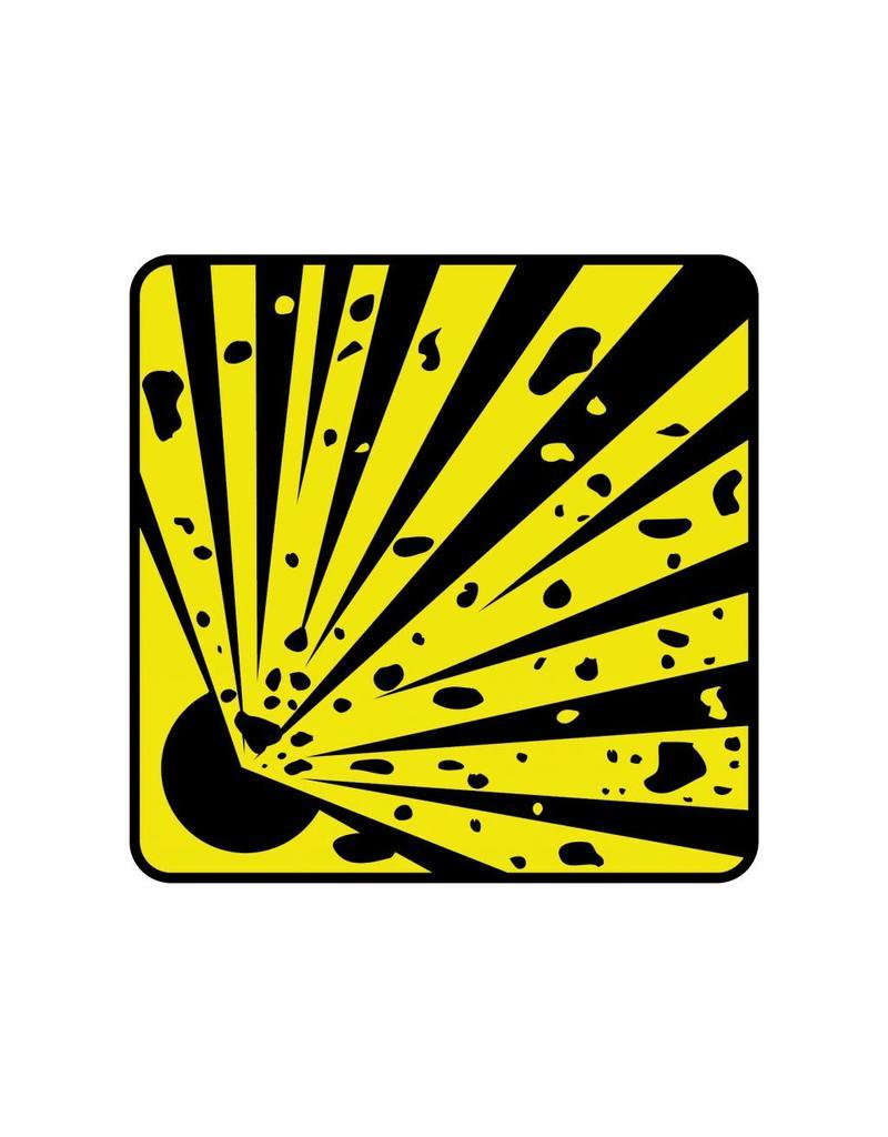 Explosie gevaar1 Sticker