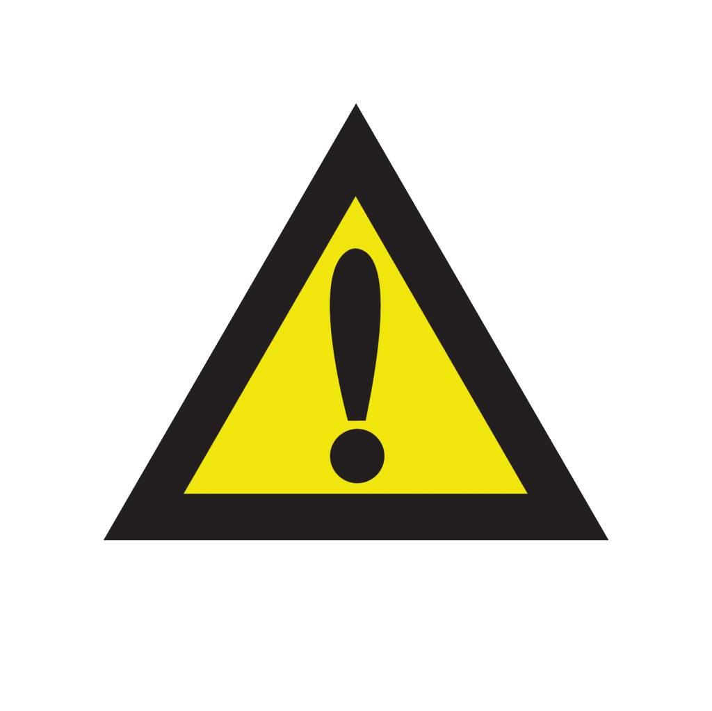 Autocollant Attention danger