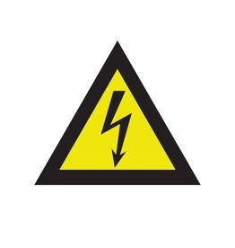 Gefährlicher elektrischer Spannung Aufkleber