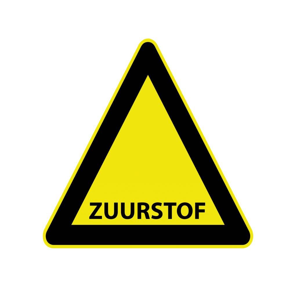 """Sticker """"Zuurstof"""""""